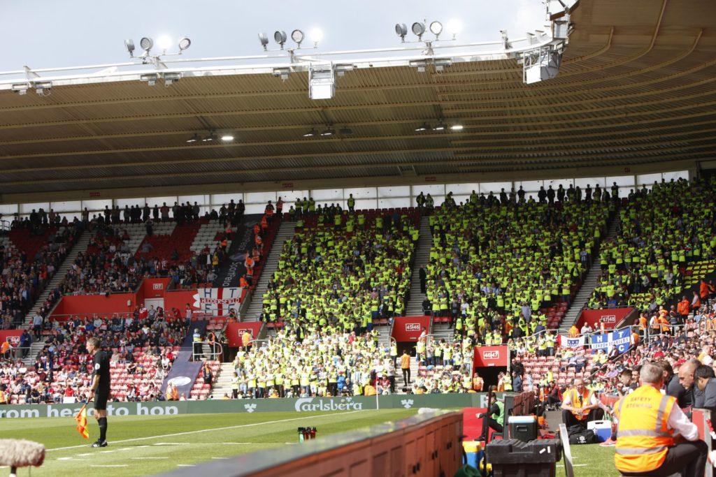 Huddersfield fans