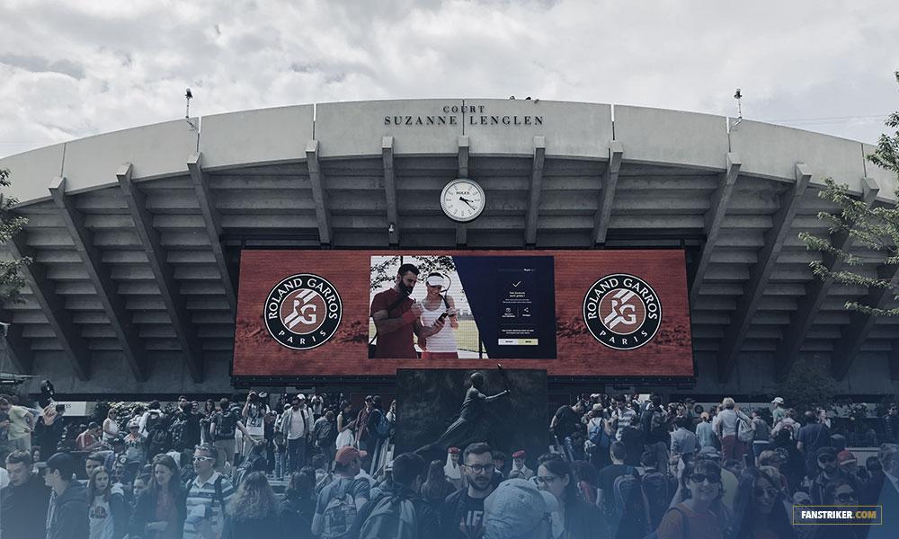 Le court Suzanne Lenglen à Roland-Garros