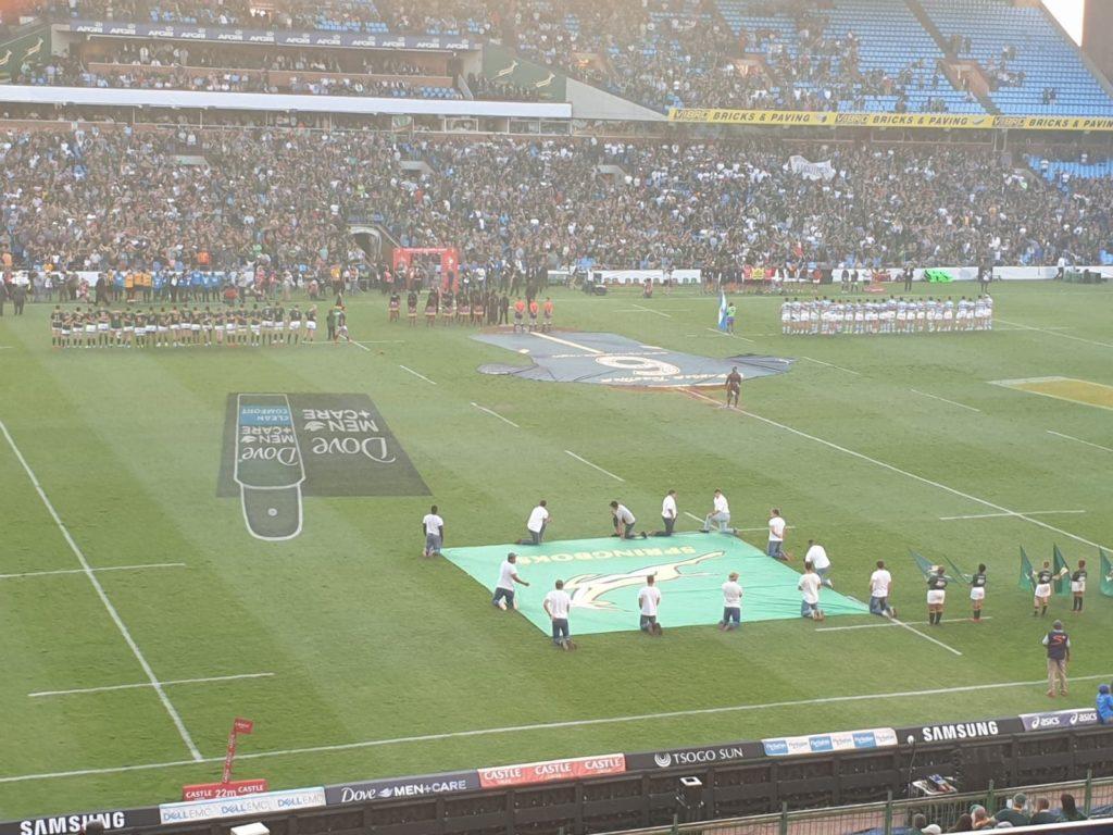 Springboks v Pumas au programme