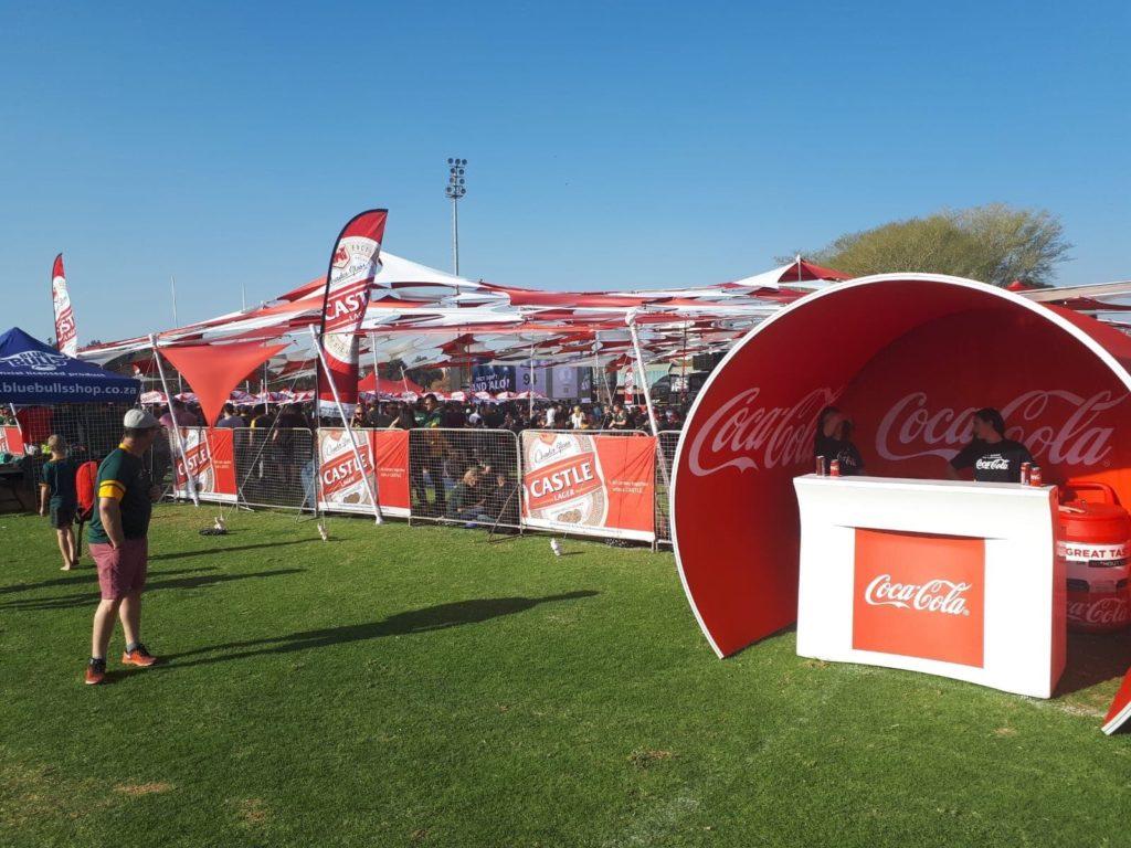 Dégustation de nouveaux produits sur le Stand Coca-Cola