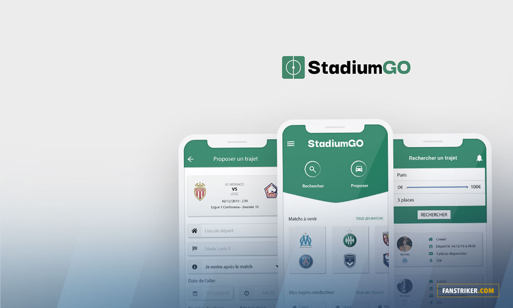 StadiumGO, l'application de covoiturage entre supporters