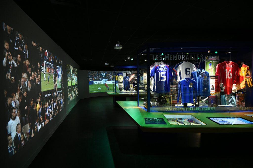 Clairefontaine cache un musée de l'histoire de l'équipe de France de Football