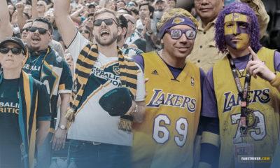 La Lakers Night organisée par le LA Galaxy