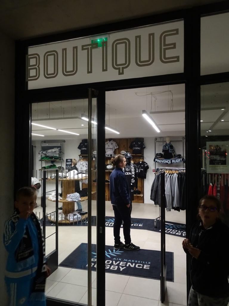 La boutique de Provence Rugby