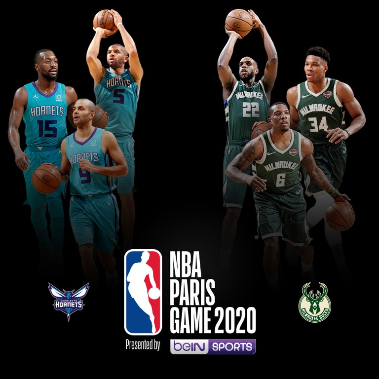 Le NBA Paris Game | Hornets vs Bucks