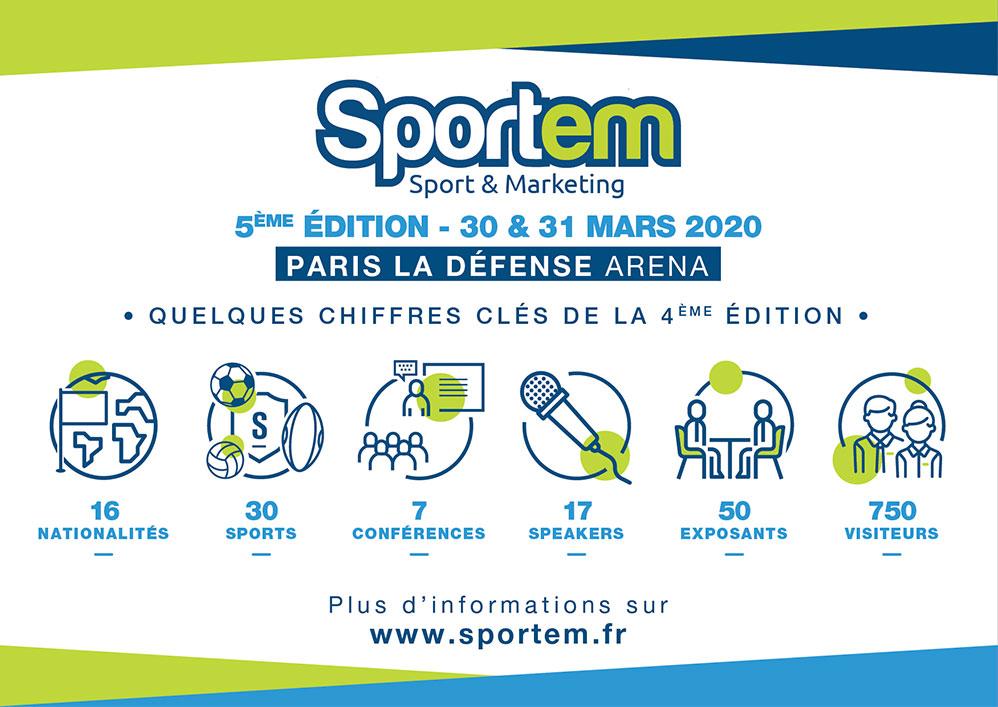 Les chiffres de cette édition du Sportem 2020