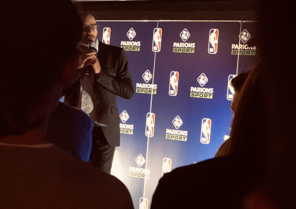 La présentation du partenariat FDJ x NBA