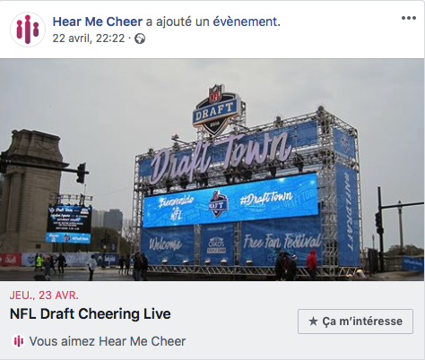 NFL Fans were able to follow the NFL draft and cheer on HMC