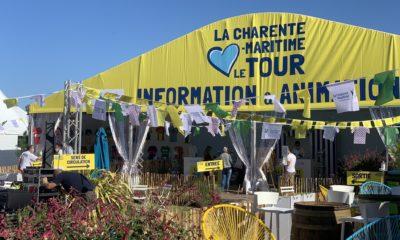 Le Fan Park en Charente-Maritime tdf2020