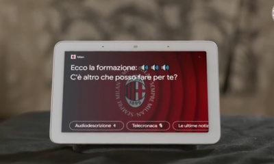 L'expérience fan audio de l'AC Milan avec Google