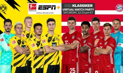 ESPN a organisé une Virtual Watch Party pour le Der Klassiker en Bundesliga