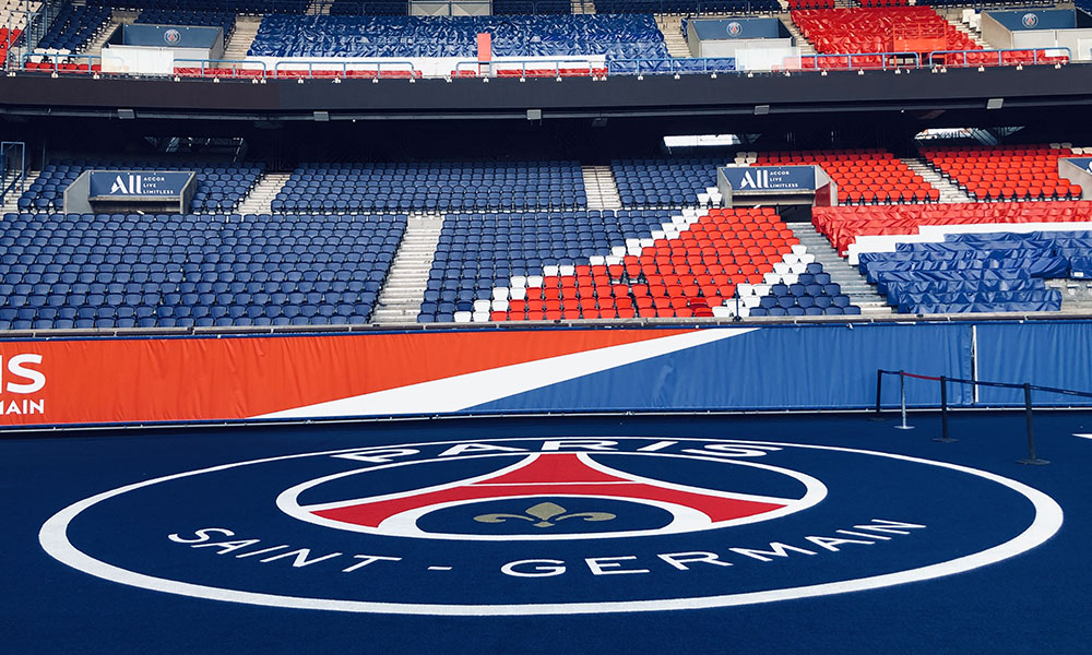 Le Parc des Princes, Paris