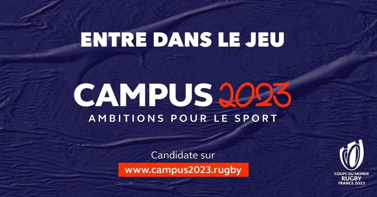 Le Campus 2023 pour se professionnaliser dans le sport avec la Coupe du Monde de Rugby