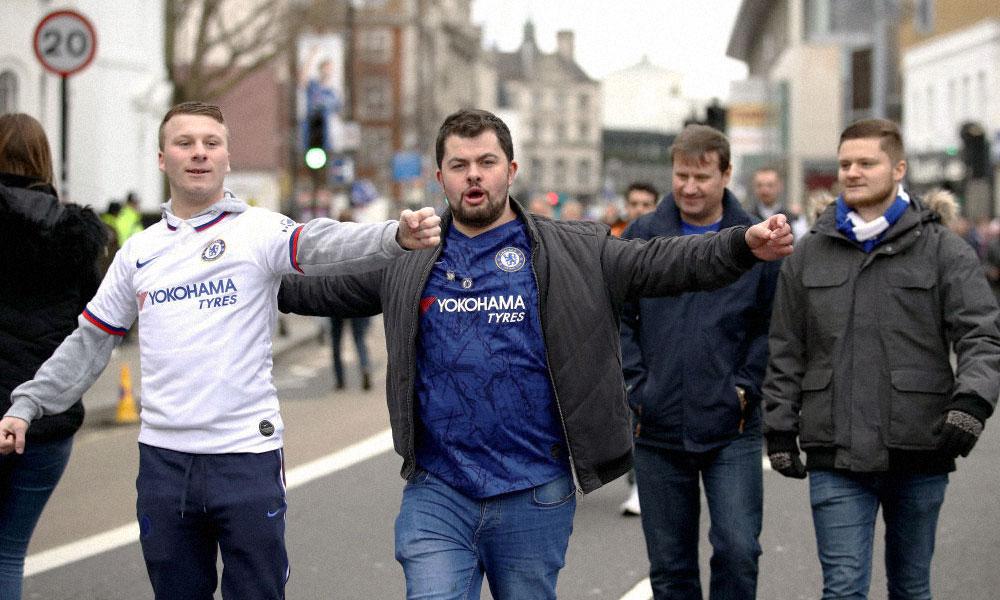 Fans de Chelsea FC