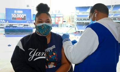 Vaccination au Yankee Stadium