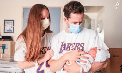 Pour le #KobyDay, les Lakers ont offert des cadeaux aux nouveaux-nés