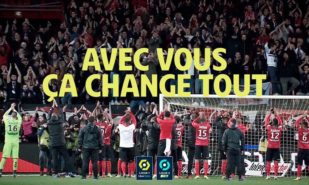Campagne de la LFP pour le retour des supporters au stade
