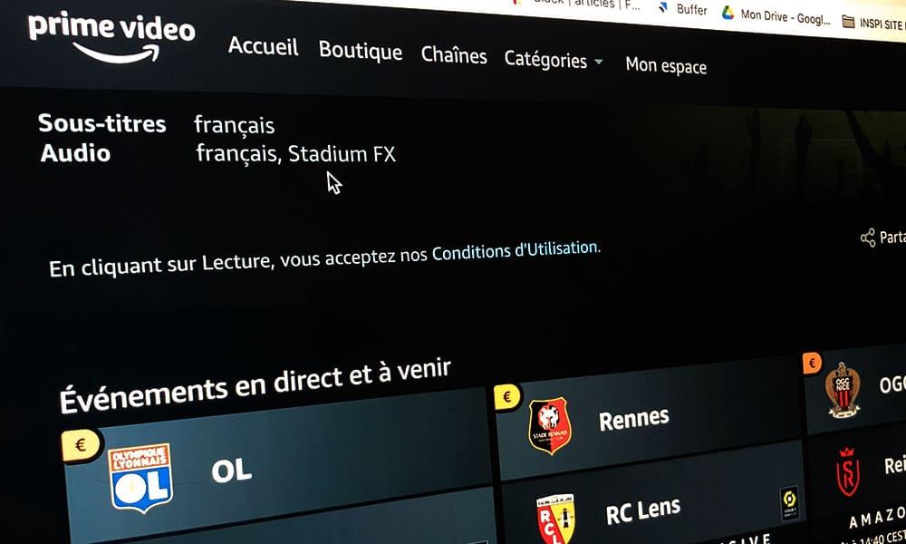 Stadium FX Le Pass Ligue 1 sur Amazon Prime Video