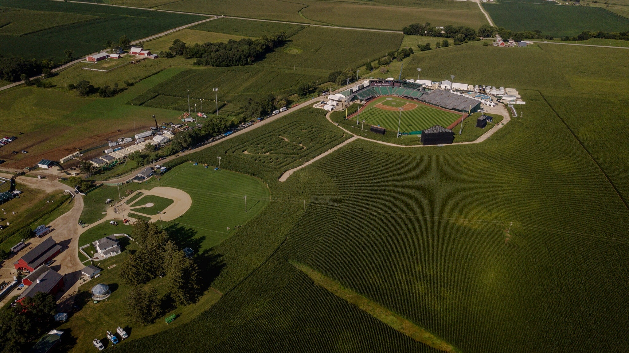 Le match Field of dreams de la MLB