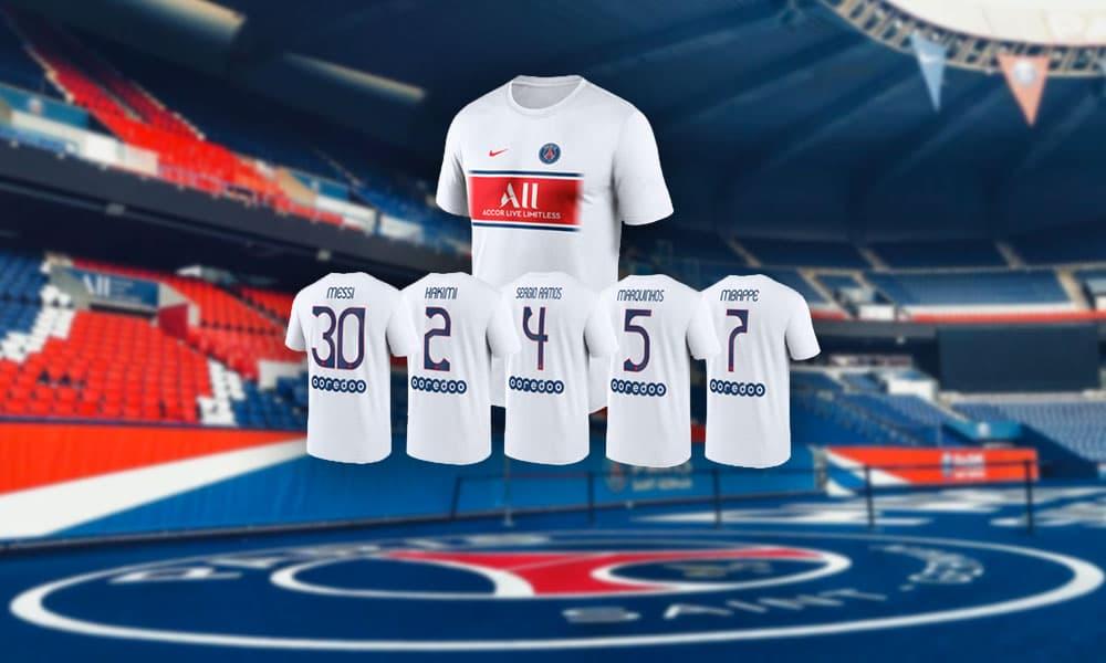 """Le PSG lance un nouveau maillot spécial """"fan"""""""